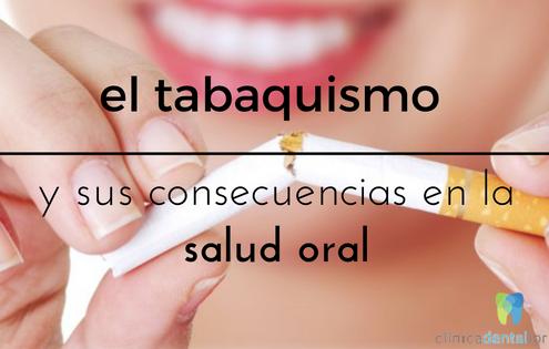 tabaquismo salud oral