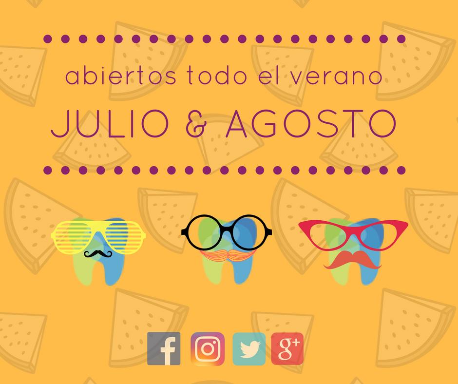 Clinica dental en Zaragoza abierta en Julio y Agosto